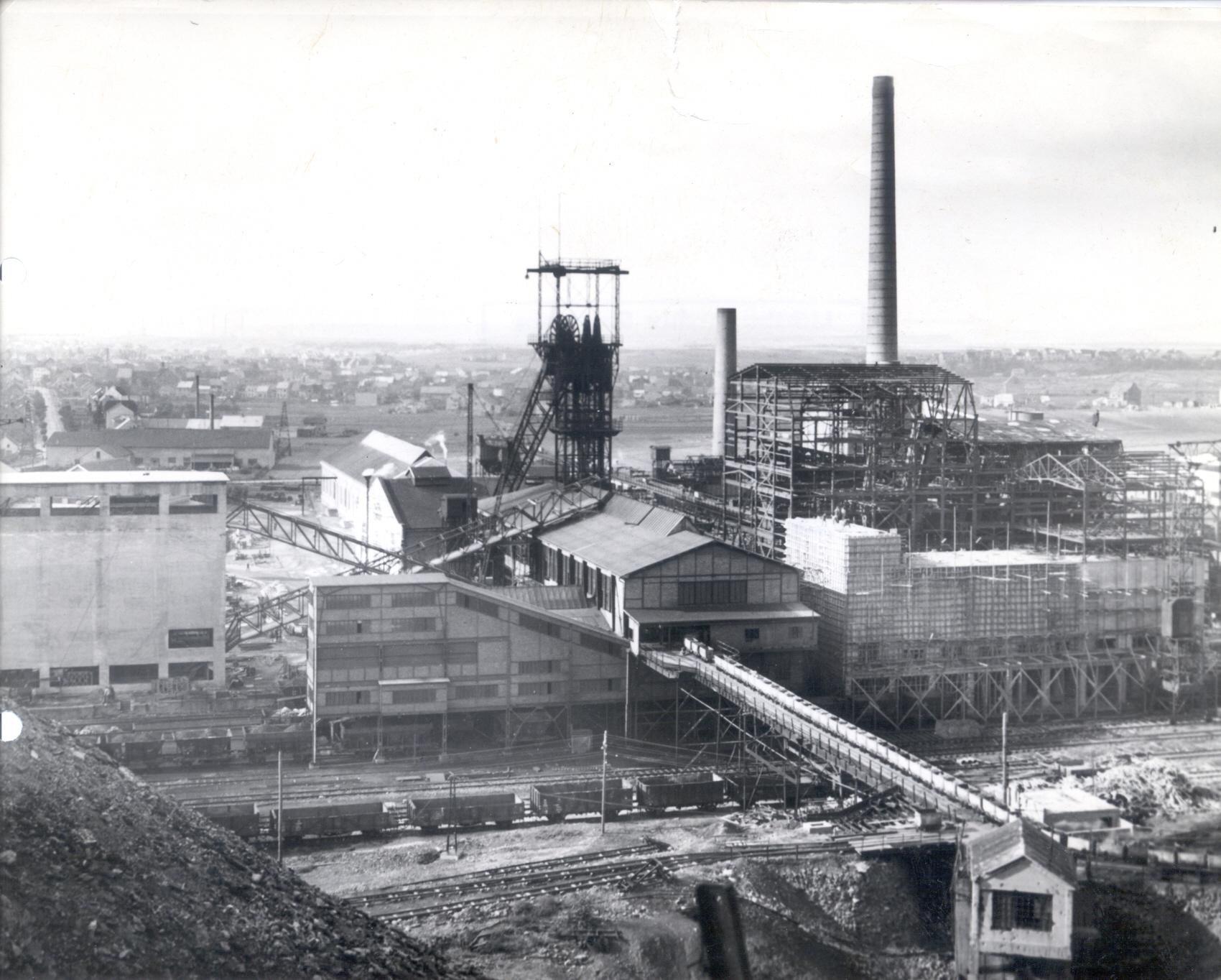 Bild zu Text Geschichte Saarschacht Wiederaufbau 1949